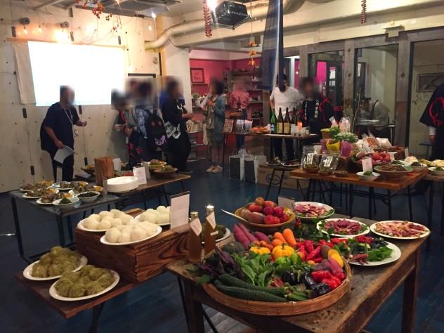 2015年の9月に吉祥寺で開催された南砺の食と手仕事のプレゼンテーションイベント